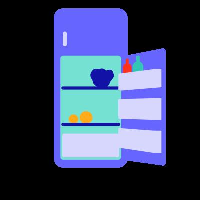 Espace frigo