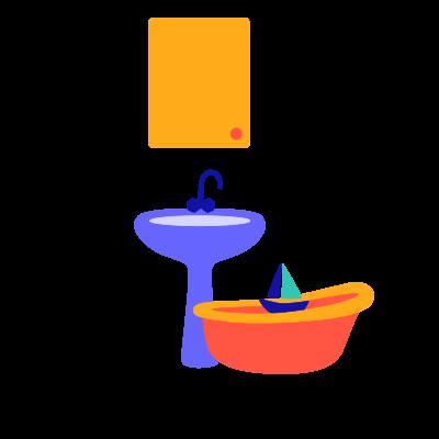 icon salle de bain